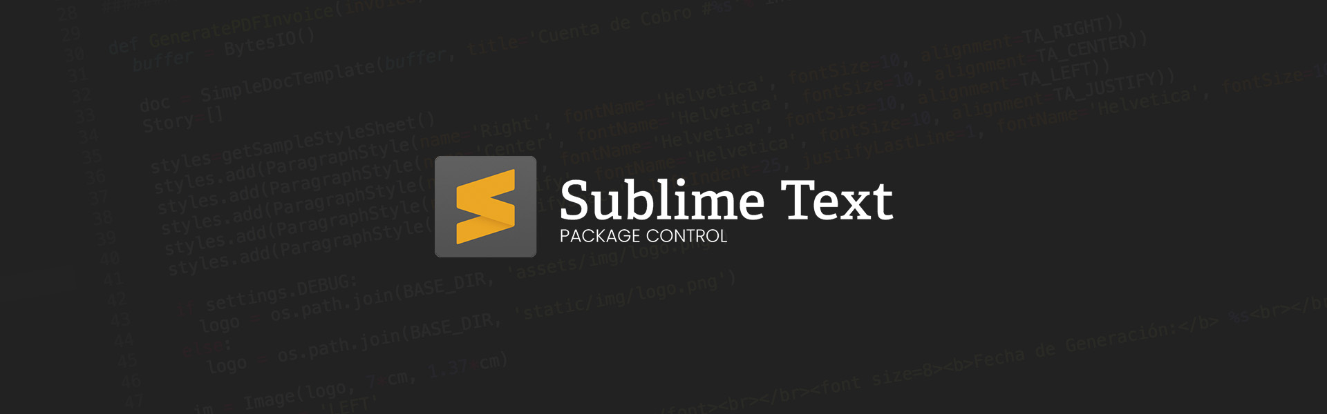 ¿Cómo instalar plugins en Sublime Text 3?